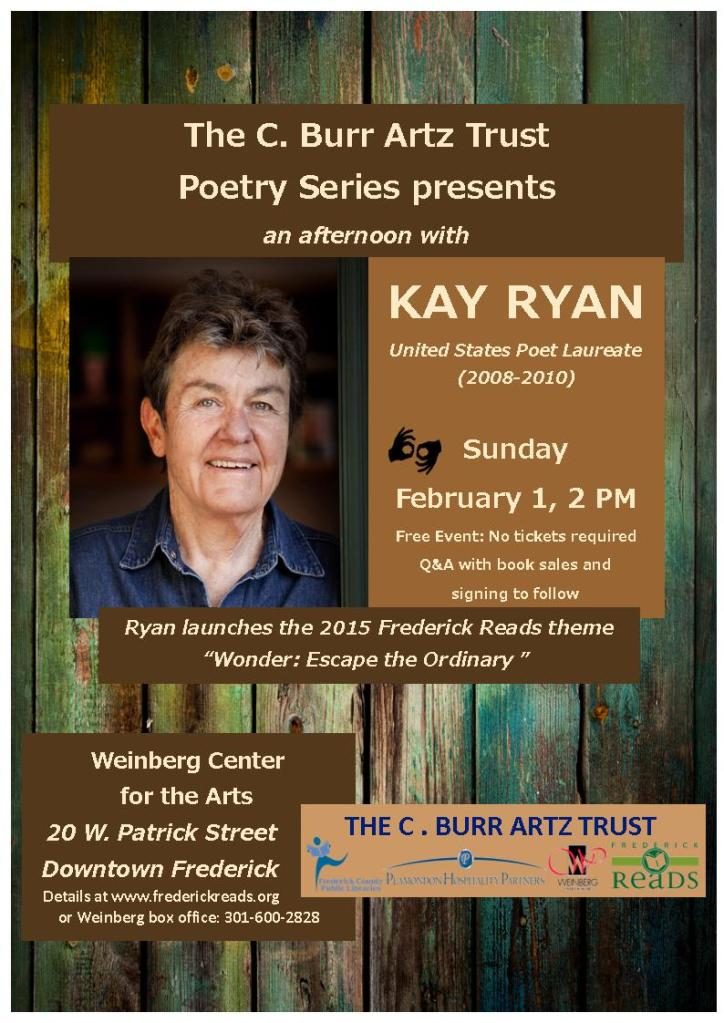 Kay Ryan Flyer